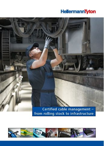 Kompetansebrosjyre: Certified cable management - from rolling stock to infrastructure
